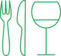 green meal icon